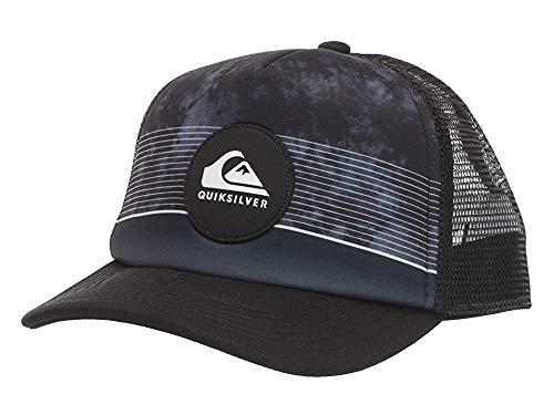 Quiksilver Little Stripe Pipe BOY Trucker HAT, Black, 1SZ (Little Boys Hat Quiksilver)