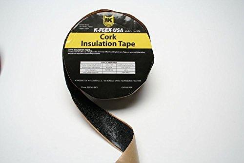 K-Flex 800-TAPE-CRK-BT - TradePro Cork Tape, 1/8'' Thick x 2'' Wide x 30'