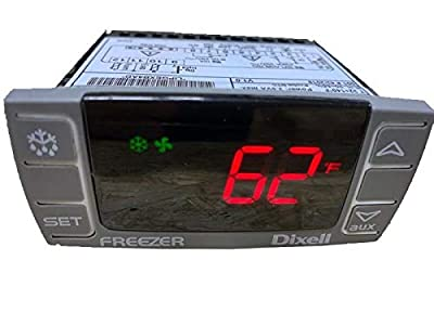 Dixell Temperature Controller XR06CX-4N1F1 Programmable-Commercial Refrigeration, for Freezer