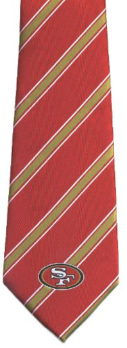 San Francisco 49ers Woven Polyester #1 Ties