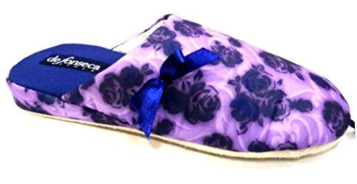 Chaussons fonseca Bleu Bleu Femme pour de gqn7Px