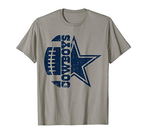 Father's day Gift Cowboys Football Dallas Fan T Shirt ()