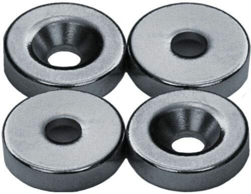 MB-THISTAR 4 Neodymium Magnets 5//8 x 1//8 inch