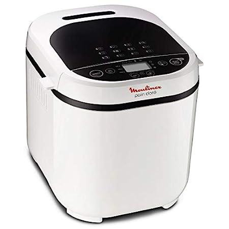 Moulinex M0187 - Máquina de pan para cocinar y preparar: Amazon.es ...