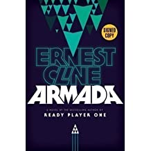 ARMADA by Ernest Cline (SIGNED FIRST EDITION) SIGNED COPY