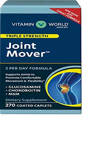 - Vitamin World Triple Strength Joint Mover 270 Coated Caplets