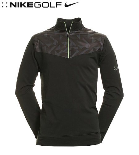 NIKE Men's Dri-Fit Fabric Mix Cover-Up Closeout