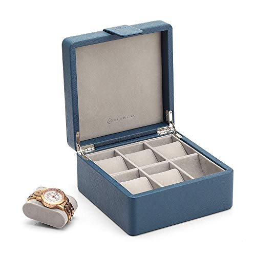 Storage Box Organizer, Men's Gift- Business Blue ()