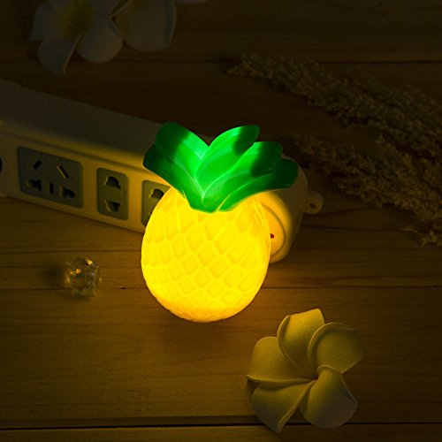 Cute Pineapple-shaped LED Night Light Wall Lamp Home Bedroom Decoration (Boxing Sofa Day Sales)