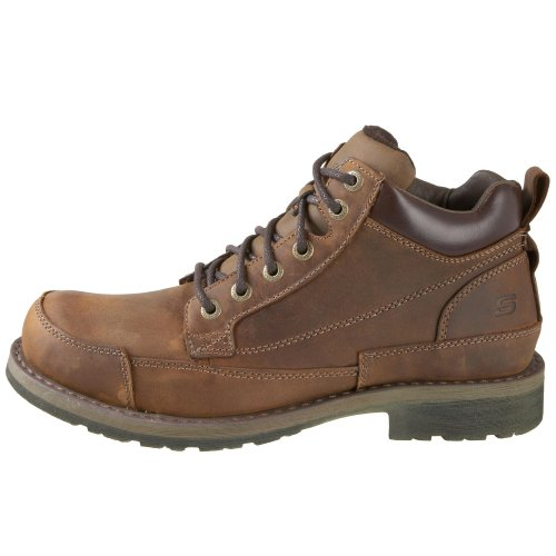 Skechers Mens Shockwaves Brown boots