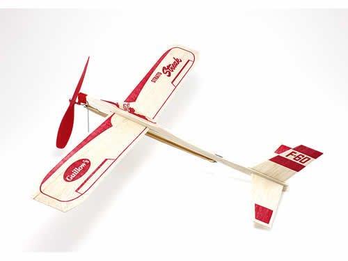 Banda de goma Strato Streak, guillotinas de planeador motorizadas