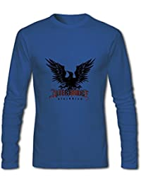 alter bridge blackbird album men's Crew Neck Tee shirt Blue XXX-Large