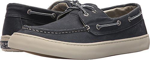 2203c7ad0f2 Sperry Men s Cutter 2-Eye Saltwash Navy 7.5 M (Saltwash Canvas)
