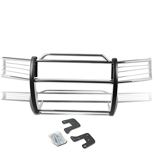 DNA MOTORING GRILL-G-019-SS Front Bumper Brush Grille Guard (Std Bumper Rear)