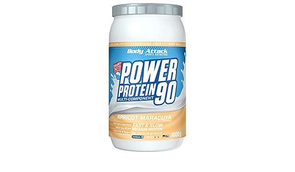 Body Attack Power Protein 90, Crema de Albaricoque-Maracuyá ...