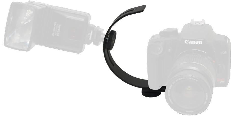 Opteka VLB-1 C Shaped Adjustable Camcorder Video Camera Flash Bracket Accessory Mount Holder Attachment for Sony HDR-CX7 HDR-CX12 HDR-CX100 HDR-CX110 HDR-CX130 HDR-CX150 HDR-CX160 HDR-CX190 HDR-CX200 HDR-CX210 HDR-CX220 HDR-CX230 HDR-CX240 HDR-CX260V HDR