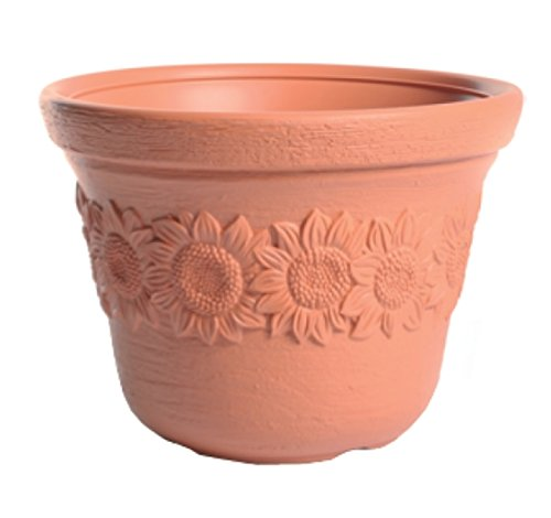 TERRA fleurs Decora terre cuite dp BCGFIU
