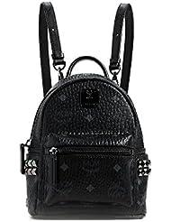 MCM Womens Side Stud Baby Stark Backpack