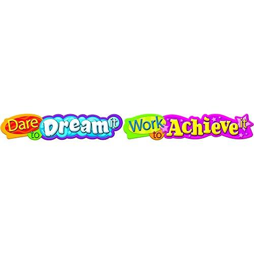 "Trend Enterprises ""Dare To Dream It Work To Achieve It"" Banner (T-25053)"