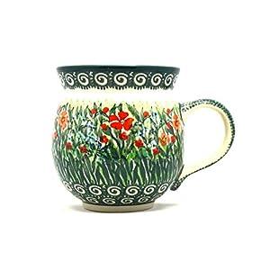 Polish Pottery Mug – 11 oz. Bubble – Unikat Signature U4336