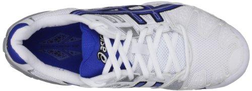 Asics Herren Gel Resolution, Blau Bianco (White/Royal Blue/Lightning)