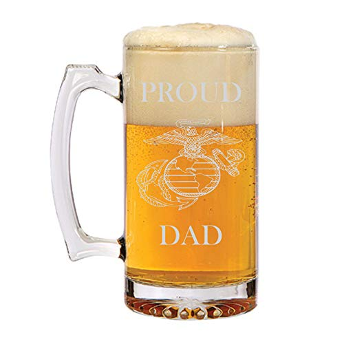 Proud Marine Dad! Marine Father's Day Mug! Personalized! Unique Gift for him! Military Dad! Dad Birthday Gift! Gift for Dad! Military Dad! Fathers Day