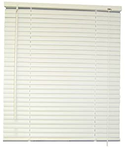 touch 1inch vinyl mini blinds white 23x72 in