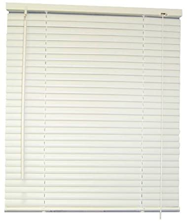 Designers Touch 1 Inch Vinyl Mini Blinds White 57x64 In 833389 57 X 64 X 1
