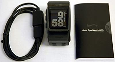 Nike+ Plus GPS Sport Watch Black/Anthracite TomTom Powered fitness runner