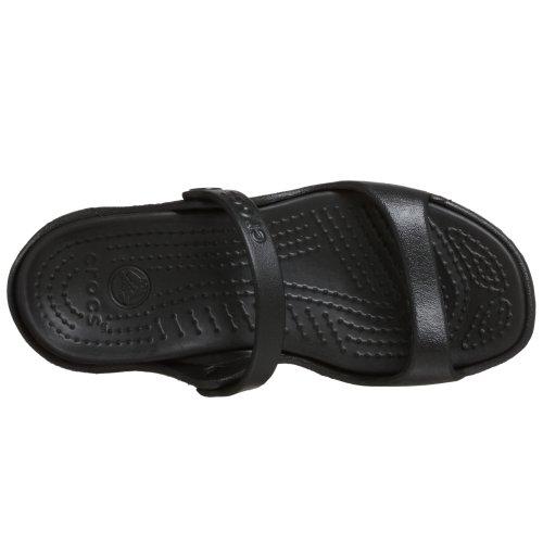 Crocs Kvinnor Cleo Croslite Sandaler Svart / Svart