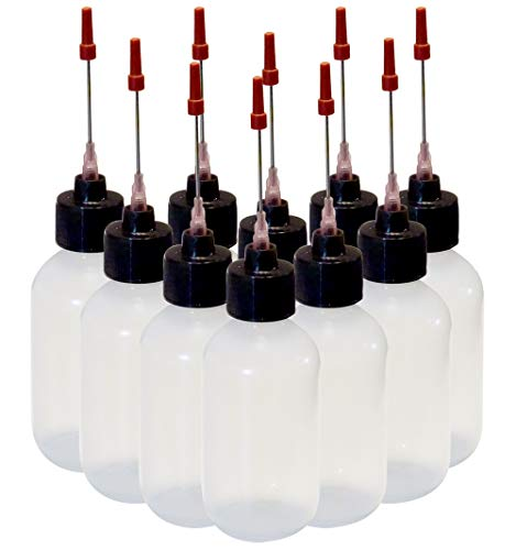 10-2oz Plastic Squeeze Bottles 1.5