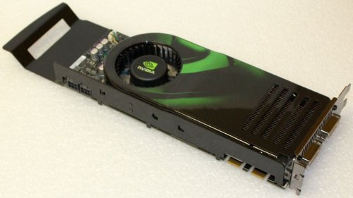 Dell nVidia Geforce 8800 Ultra 768MB Dual DVI HDTV PCI-E x16 Video Card - Dell NW458