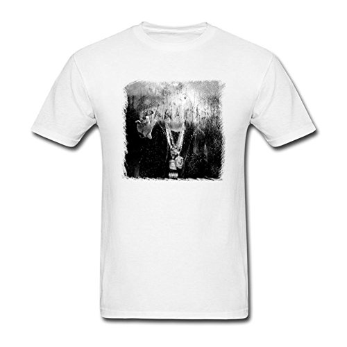 Price comparison product image SAMJOSPHT Men's Big Sean Dark Sky Paradise T-shirt Size M White