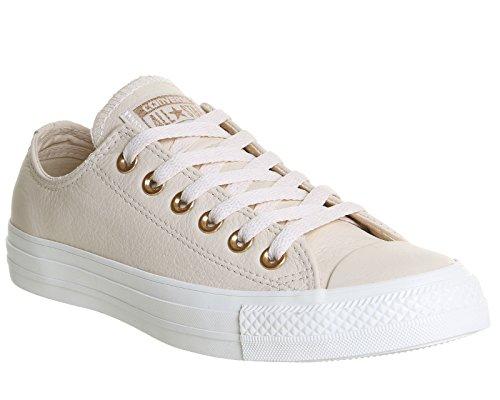 Converse Chuck Taylor All Star Mono Okse, Unisex - Erwachsene Sneaker Hejren Pastel Pink Tan Rødme Guld Eksklusiv