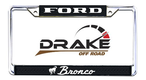Drake Off Road Acc-LPF-Bronco License Plate Frame for Ford -