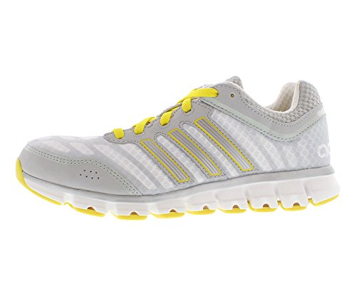Adidas ClimaCool Aerate 2 Trainers - White/Light Onix/Metal Silver (Women) - 6