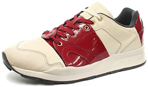 Puma XT2 + x Curiosity Cream/Red Unisex Sneakers, Size 5 (Red All Shoes Puma)