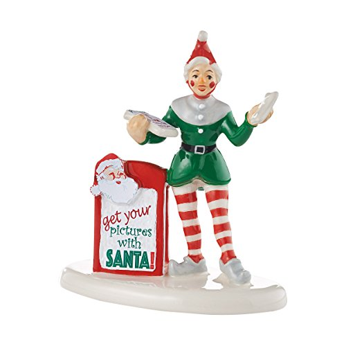 Department 56 Village Get Your Pictures with Santa Accessory Figurine, 3.07 inch by Department 56