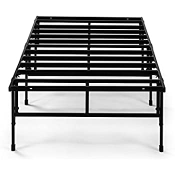 Amazon.com: Zinus Modern Studio 14 Inch Platforma Bed Frame, Cot ...