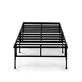 Zinus 14 Inch Easy To Assemble SmartBase Mattress Foundation / Cot size / 30″ x 75″ / Platform Bed Frame / Box Spring Replacement, Narrow Twin