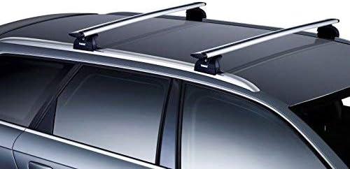Thule Aero wingbars techo accesorio de barra barras con cerradura ...