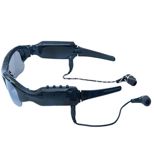 1080P Gafas Tarjeta Sol Y HD Onecolor SD 32GB Video De De Para Espía Con De Video Deportes Gafas Grabadora Bluetooth Polarizadas Cámara Fotográficas De Grabaciones Sol xRqvggOw1