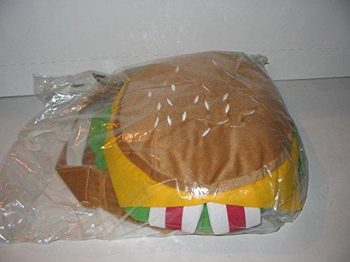 [Top Paw Pet Halloween Costume Dog Cheeseburger (Large/XL)] (Dog Burger Costume)