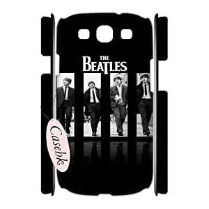 Casehk Unique Design Hard Shell Case for Samsung Galaxy S3 I9300, DIY The Beatles Samsung Galaxy S3 I9300 3D Case, The Beatles Custom Cell Phone Case
