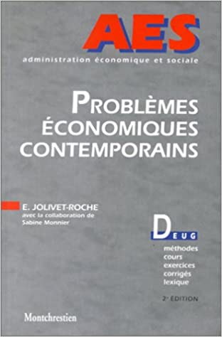 En ligne téléchargement Problèmes économiques contemporains, 2e édition pdf, epub