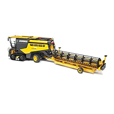 Bruder 02118 Claas Lexion 780 Combine Harvester, Realistic Farm Harvesting Tractor Toy,  Yellow: Toys & Games