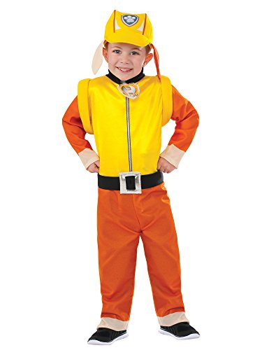Rubie's Costume Paw Patrol Rubble Value Child Costume, Toddler