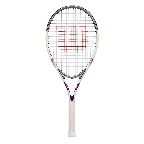 Wilson Essence Adult Strung Tennis Racket, 4 1/4
