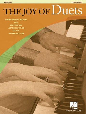 THE JOY OF DUETS             1 PIANO/4 HANDS PIANO DUET