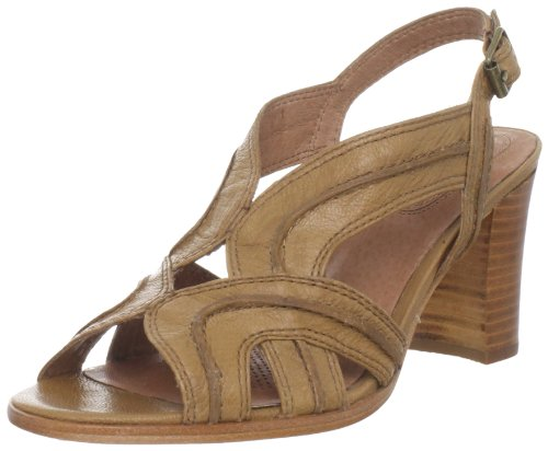 Corso Como Womens Da Vinci Slingback Sandal Camel Milan